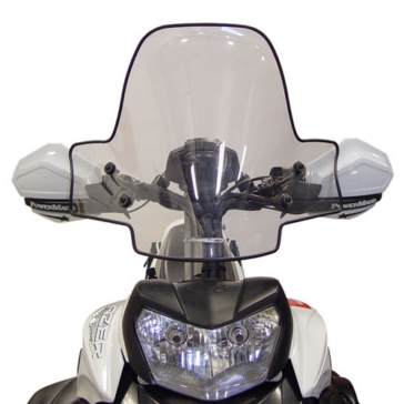 POWERMADD Cobra II Sport Shield Front - Universal - Polycarbonate