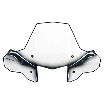 POWERMADD Cobra ProTEK ATV Shield Front - Honda, Suzuki, Yamaha, Polaris - Polycarbonate