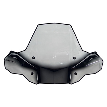 POWERMADD Cobra ProTEK ATV Shield Front - Universal - Polycarbonate