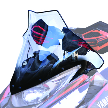 POWERMADD Viper Chassis, Windshield Front - Yamaha, Arctic cat - Polycarbonate