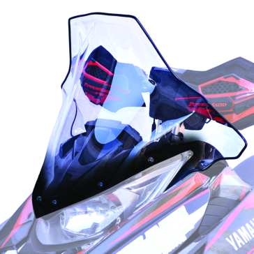 Powermadd Cobra Windshield Fits Yamaha, Fits Arctic cat
