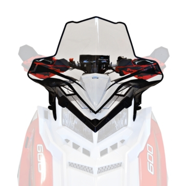 Powermadd Cobra Axys Windshield Polaris