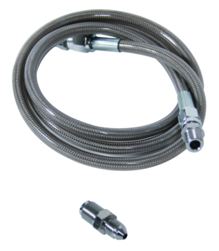RSI Extended Length Steel Braided Brake Line