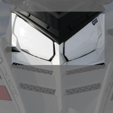 Protège-phare de motoneige HOLESHOT