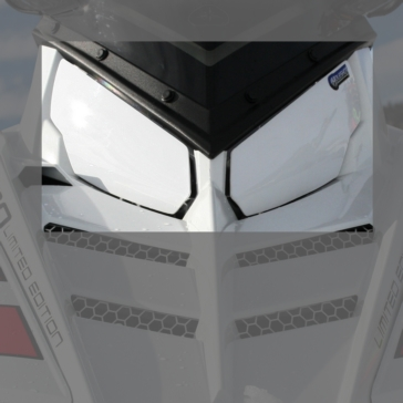 HOLESHOT Snowmobile Headlight Cover