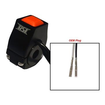 RSI Interrupteur d'urgence à bouton poussoir Poussoir - 202835