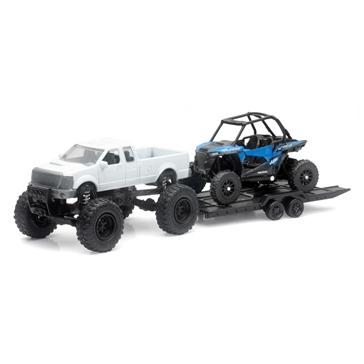 New Ray Toys Modèle réduit - Camion avec VTT Polaris