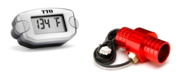 Trailtech 25mm Radiator Hose Temperature Indicator ATV, UTV - 72-EH3