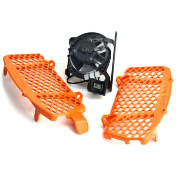 Trailtech Fan Kit with Radiator Guard KTM - 204826