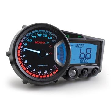 Koso GP Style Speedometer RX-2 Universal - 205076