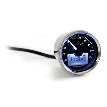 Tachymètre universel style GP avec température de l'eau KOSO
