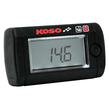 KOSO Mini-instrument de mesure du rapport air/essence Universel