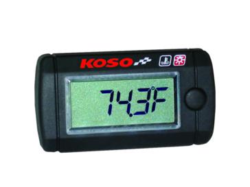 Mini-thermomètre à cristal liquide KOSO