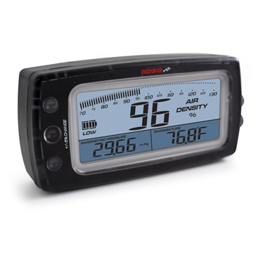 Koso Compteur densité de l'air Motocyclette - 205140