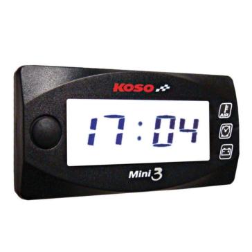 Température ambiante/horloge/voltmètre MINI 3 KOSO