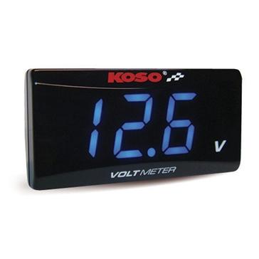 KOSO Super Slim Style Volt Meter