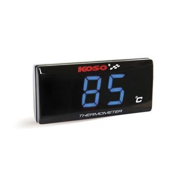 Koso Thermomètre en celcius stylé ultra-mince Universel - 205154