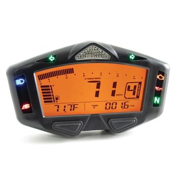 Koso DB-03R Digital LCD Meter Universal - 205159
