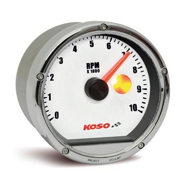 Koso TNT Tachymètre 10,000 RPM Universel - 205174