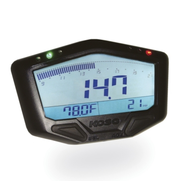 Koso Boost Meter with Air/Fuel Ratio & Temperature Universal - 205203