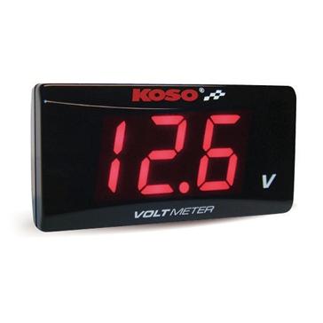 Koso Super Slim Style Volt Meter Universal - 205265