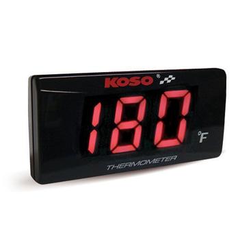 Koso Thermomètre en fahrenheit stylé ultra-mince Universel - 205266