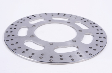 Front left EBC  MX Brake Disc and Replacement Street