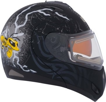 Mad Bee CKX Tranz RSV - Modular Helmet, Winter
