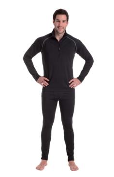 Sous-vêtement, Chandail Warmskin CKX Haut manches longues - Homme - 2 Couleurs - Noir, Blanc