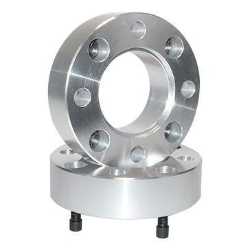 Front, Rear HIGH LIFTER Wide Trac Aluminum Wheel Spacer