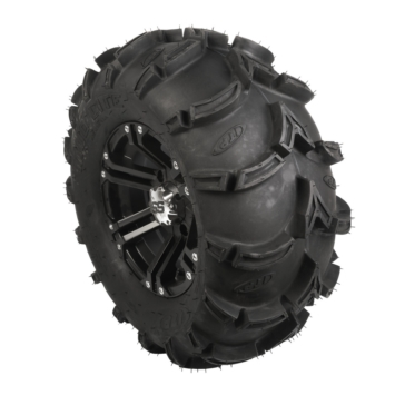 ITP Mud Lite XL Tire and SS212 Matte Black Wheel Kit