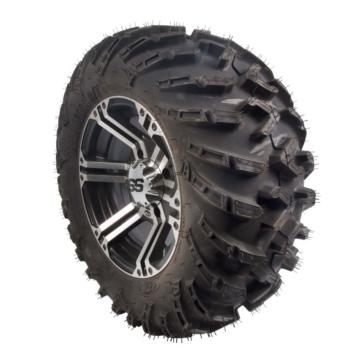 Ensemble de pneu Terracross R/T et roue SS212 machiné avec noir ITP