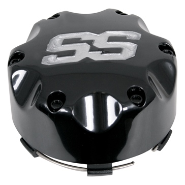 SS Alloy Wheel, Sport Quad ITP Wheel Caps