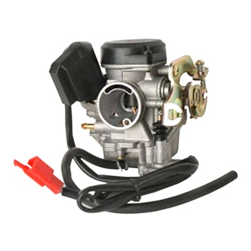 4 Stroke - GY6 style OUTSIDE DISTRIBUTING GY6 Style 50 cc Carburetor with Electric Choke