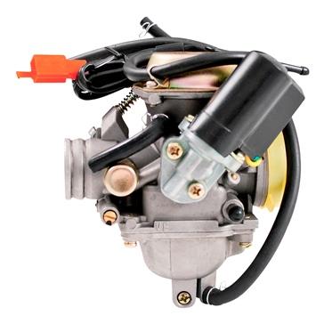 Carburateur GY6 complet de 125-150 cc avec étrangleur électrique OUTSIDE DISTRIBUTING 4 temps - Style GY6