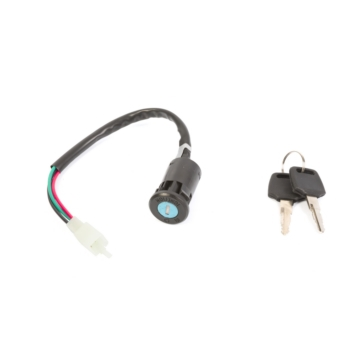 OUTSIDE DISTRIBUTING Key Switch 4-Wire and Female Plug
