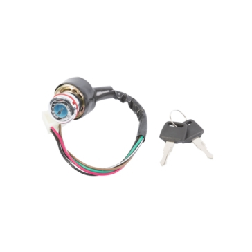 OUTSIDE DISTRIBUTING Key Switch 6-Wire and Male Plug