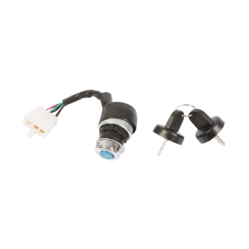OUTSIDE DISTRIBUTING Key Switch 5-Wire and Female Plug