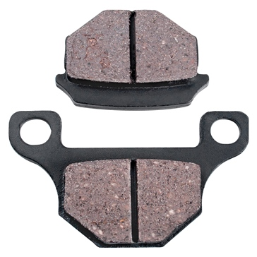 Outside Distributing Brake Pads: Type 4P-R Sintered copper - Rear