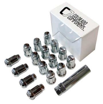 DF-54015S WCA Conical Lug Nut Kit (16) with Tip Closed