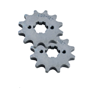 Outside Distributing 420 & 428 Chain Drive Sprocket. 12 Tooth Front
