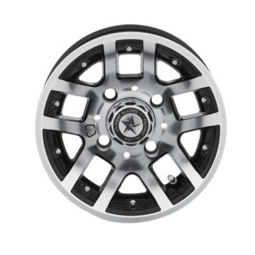 FAIRWAYALLOYS Illusion Wheel 4/4 - 10x7 - -25 mm