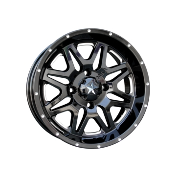 MSA WHEELS M26 Vibe Wheel (Milled) 4/110 - 14x7 - +0 mm