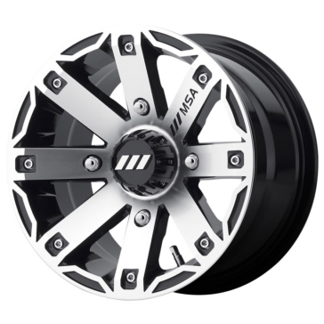 MSA WHEELS M27 Rage Wheel 4/137 - 12x7 - +10 mm