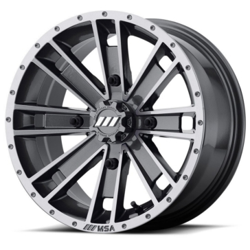MSA WHEELS M28 Ambush Wheel 4/110 - 14x7 - +0 mm