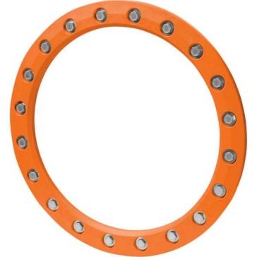 Anneaux de roue colorés HIPER WHEELS Orange