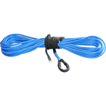 7700 lbs - 38' KFI PRODUCTS Blue Synthetic ATV Winch Cable