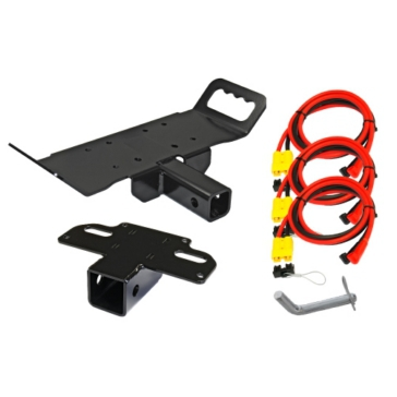 KFI PRODUCTS Winch Bracket & Receiver Hitch for Multi-Mount 218238