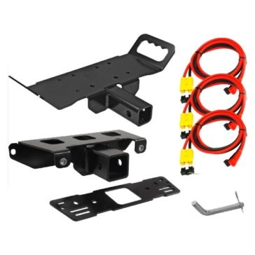KFI PRODUCTS Winch Bracket & Receiver Hitch for Multi-Mount 218242