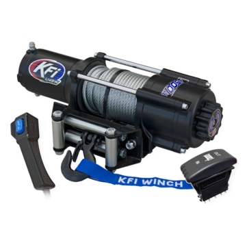 KFI PRODUCTS U4500w Wide Winch